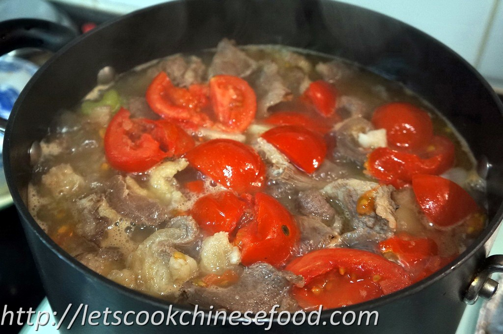 how to make chinese beef brisket stew