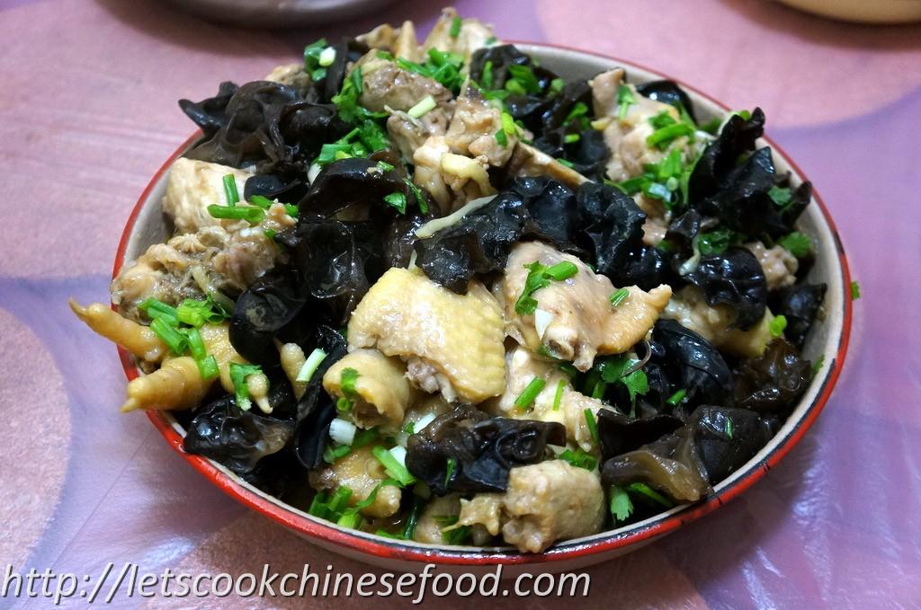 Recipe for chicken fungi