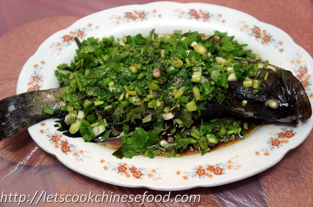 Chinese recipe steamed fish for Chinese steamed fish recipe